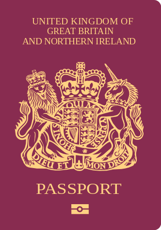 BN (O)護照封面